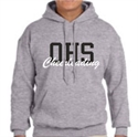 Picture of OCHEER - Grey Hooded Sweatshirt