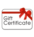 Picture for category Gift Certificates